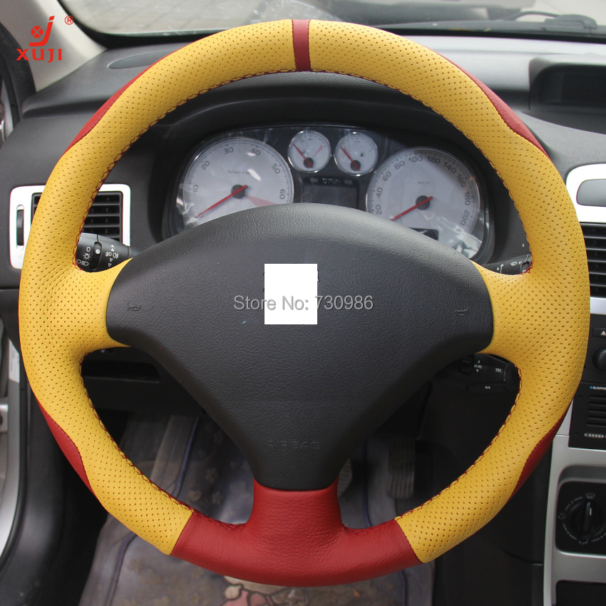 online shop steering wheel cover for peugeot 307 xuji car special