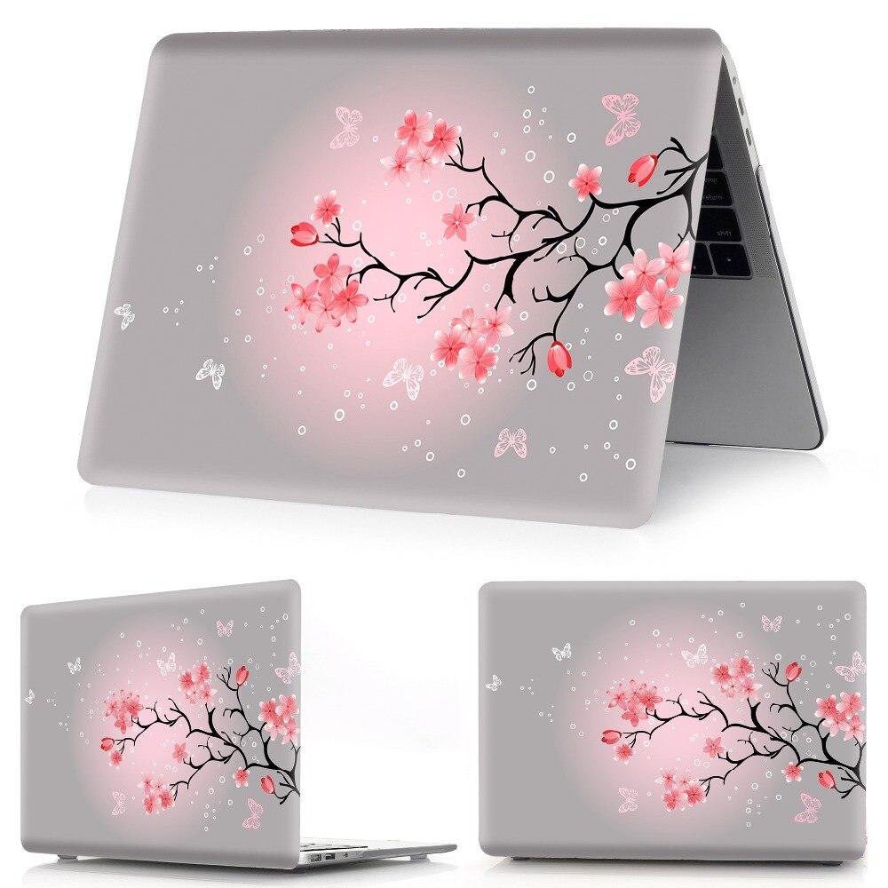 Image 4 - Drukowanie w kolorze kwiatowym etui na notebooka Macbook Air 11 13 Pro Retina 12 13 15 calowe kolory pasek dotykowy nowy Pro 13 15 nowe powietrze 13Torby i etui na laptopy   -