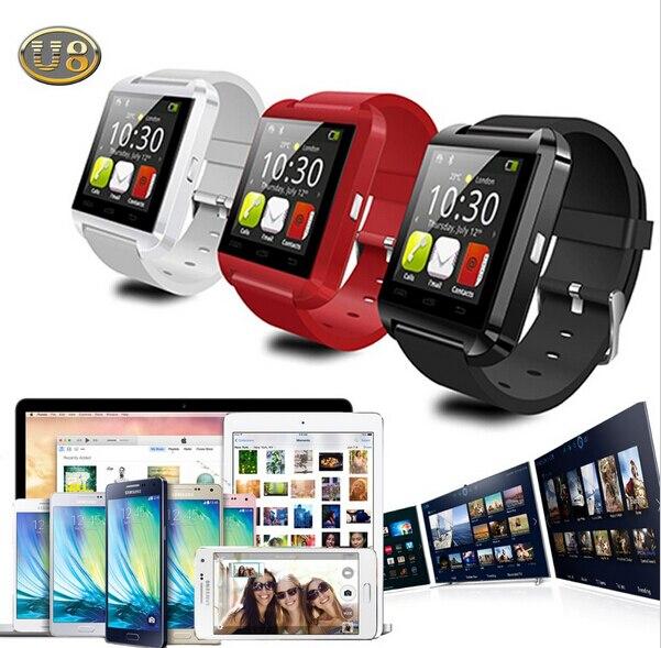 Notificador de conectividad bluetooth u8 reloj smart watch reloj de sincronizaci
