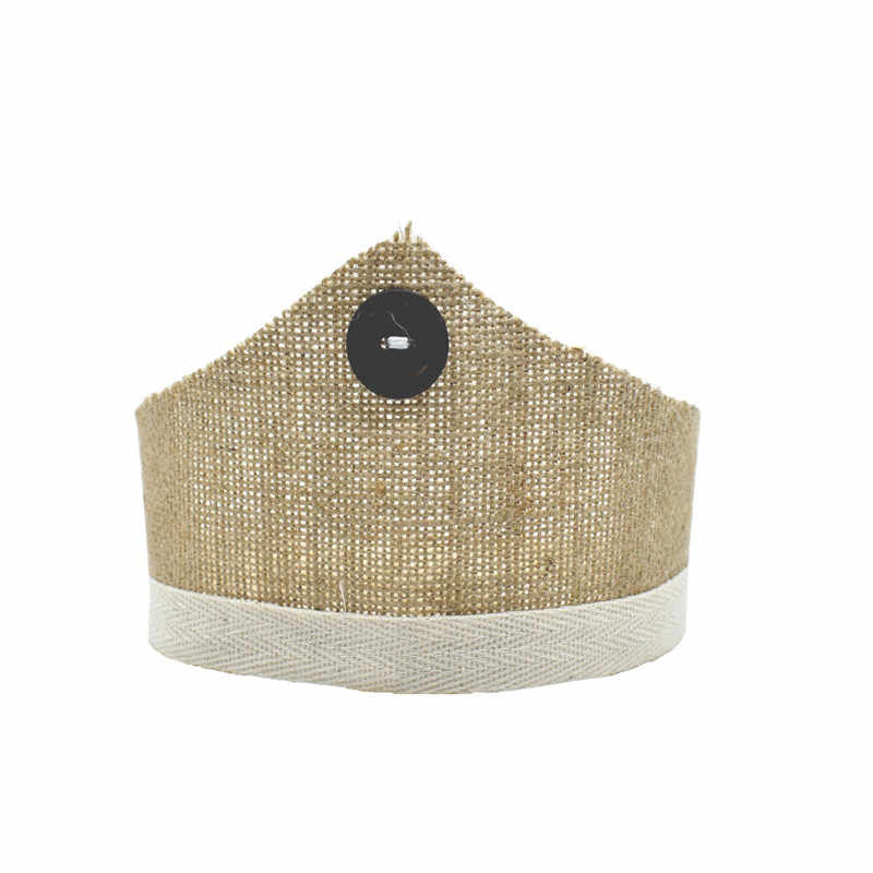 От 0 до 2 лет реквизит для фотографии новорожденных детские корона шляпа для фотосессии Природные ретро для маленьких мальчиков реквизит для фотосессии для девочек Корона