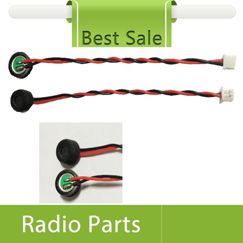 imágenes para 10x micrófono con cable para motorola xir p3688 de reparación de piezas