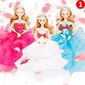 12 объединенная кукла тела с свадебное платье кукла принцесса платье платье для barbie fashion 30 см куклы дети подарок куклу аксессуары