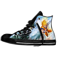 Dragon Ball Z Shoes Mens 3D Shoes Super Saiya Son Goku Brolly Printed Sneakers Hombre Casual Shoes