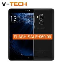 """Flash Vente Original BLUBOO D1 Mobile Téléphone 5.0 """"HD 8.0MP Double Caméra Arrière MTK6580A Quad Core 2G RAM 16G ROM Android 7.0 2600 mAh"""