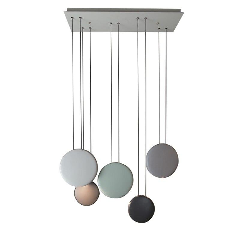 2017 new modern led pendant light linear hanging lighting for Modern pendant lighting for dining room