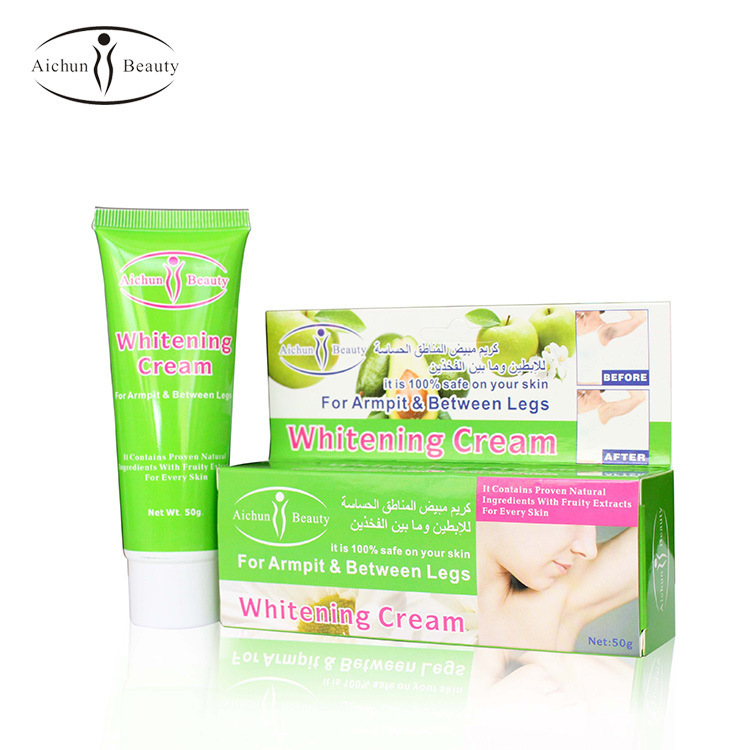 Aichun beauty armpit armpit Whitening cream specially and between legs 100% safe specail formula armpit whitener
