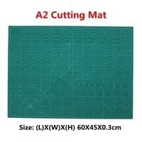 A2 PVC Non Slip Pad Double Imprimé Self Healing Coupe Tapis Artisanat Quilting Scrapbooking Conseil Patchwork Tissu Papier Artisanat Outils