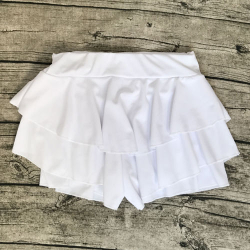 Summer-Women-Layered-Ruffled-Frill-Skorts-High-Waisted-Party-Mini-Skirt-Shorts