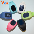 6 Colores Vwar Original Reloj Niños Kid Reloj G36 Q50 Q50 Teléfono Inteligente GSM GPRS GPS Localizador Rastreador Anti-pérdida Smartwatch