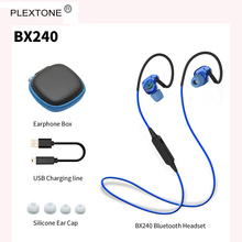 Big discount PLEXTONE BX240 Wireless Bluetooth Earphone Sport Headphone Stereo Bass Music Headset with Mic for iPhone 7 7s HTC fone de ouvido