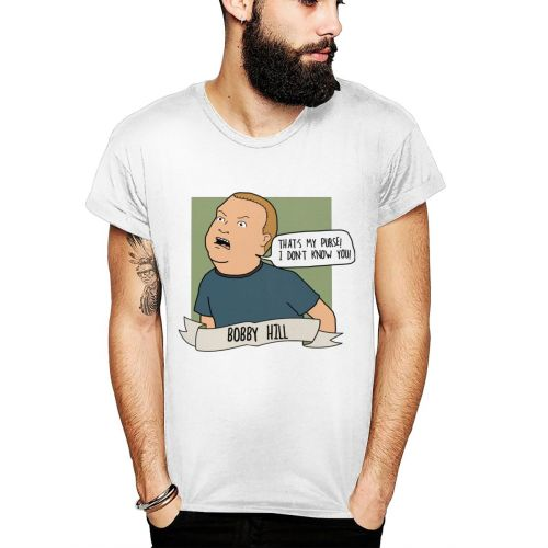Men's Tee Round Neck Bobby Hill That's My Purse I Don't Know You The Big Lebowski Tees Retro T Shirt Man Graphic Camiseta
