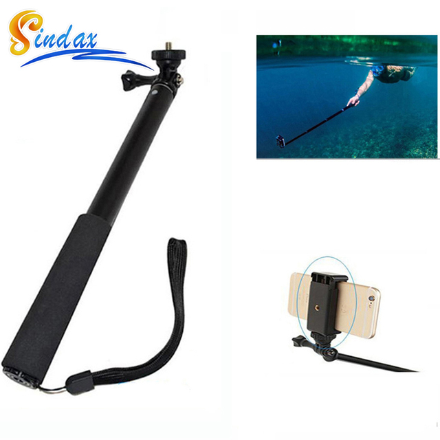 reputable site 6e58f 866ec US $10.5 |Waterproof Selfie Monopod For Xiaomi yi Extendable Handheld  Monopod Selfie Stick Monopod for Iphone Samsung GoPro Xiaomi yi-in Selfie  Sticks ...
