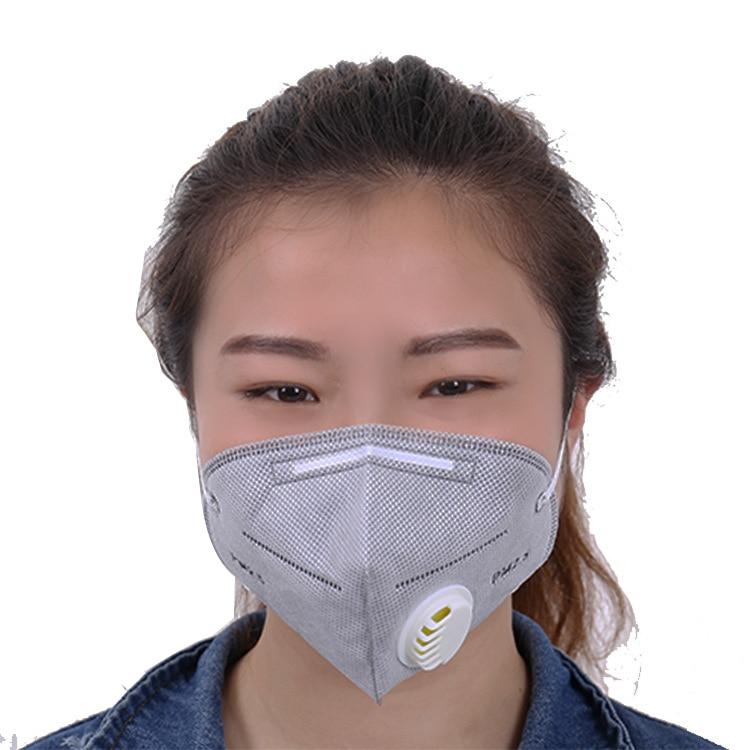 2-10pcs Dust Mask  Sponge belt ear mask Fog and haze breathing valve PM2.5 filter respirator2-10pcs Dust Mask  Sponge belt ear mask Fog and haze breathing valve PM2.5 filter respirator