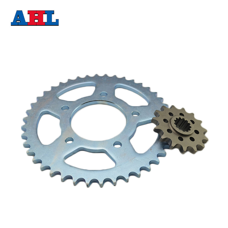 Racing Motorcycle Parts Front & Rear Sprocket Star 42-15 For Honda CB400 1992-1998 CB400SF Sprockets Fit 530 Drive Chain free shipping motorcycle accessories modified for honda cb400 1992 1998 vtec 99 07 new high water pump assembly