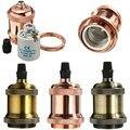 New Lamp Base E27/E26 Retro Vintage Antique Screw Pendant Light Bulb Socket Lamp Base Holder Fitting 110V-220V