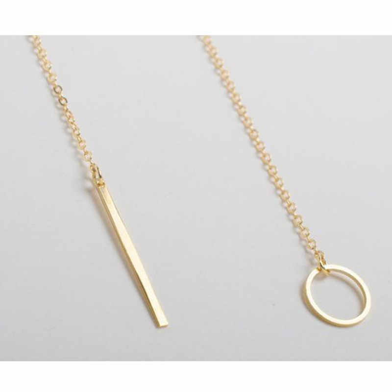 Collier à pendentifs simples pour femmes ND303