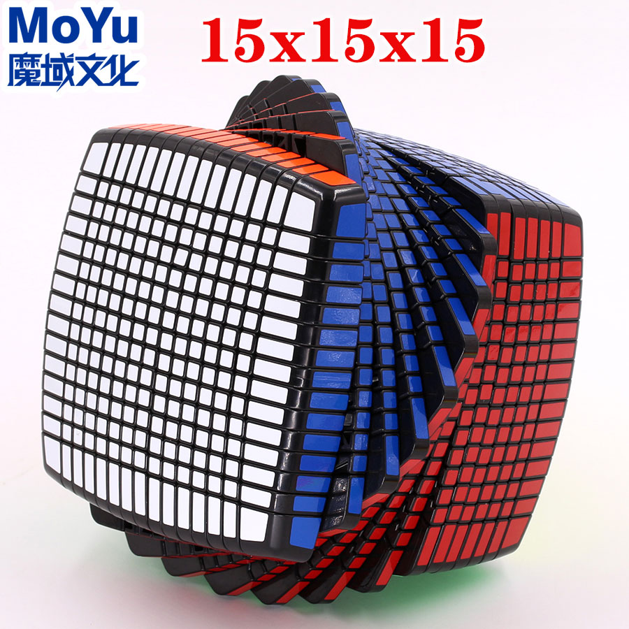 [Big sale] Magic cube puzzle MoYu 15x15x15 puzzle cube master must professional educational twist wisdom game toy cube