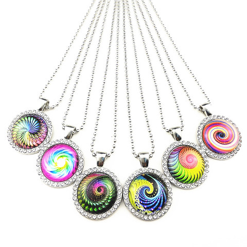 24 шт/лот волна вихревое ожерелье в национальном стиле для женщин