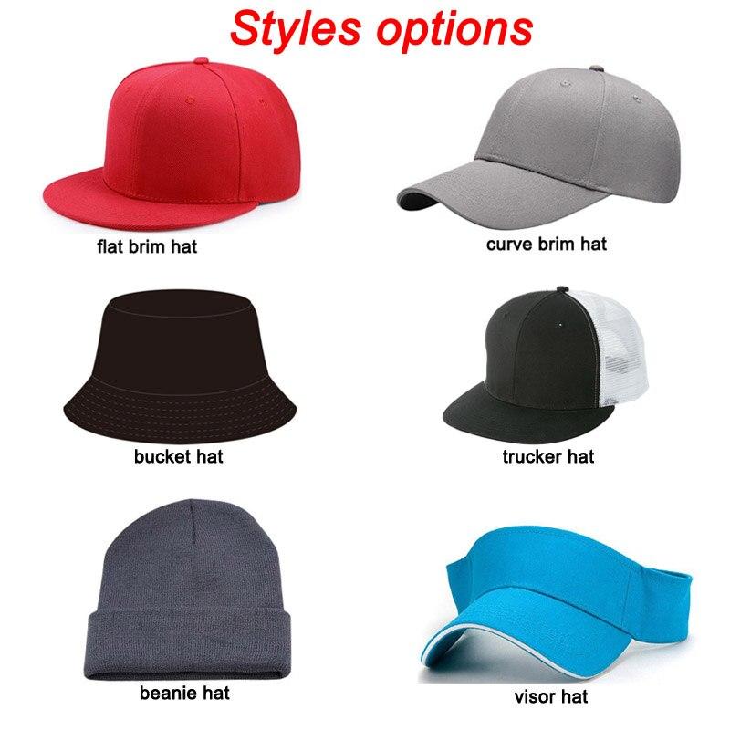 298ae96f96b52f 50pcs/ lot Customize make Snapback Caps DIY Embroidery Printing Logo Own Design  Baseball Hats Fashion Cap Mixed Styles-in Men's Baseball Caps from Apparel  ...