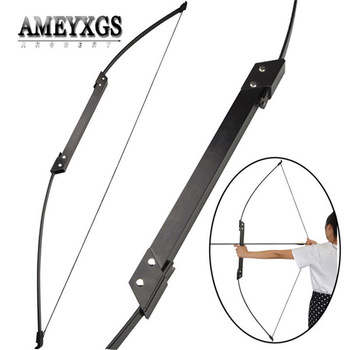 1set 56inch 35/40lbs Recurve Bow Right/Left Hand Shooting Practice Adult Bow Takedown ILF Limbs For Hunting Archery Accessories 40lbs straight bow for right hand and left hand 50 inches with arrows for youth archery hunting shooting child recurve bow