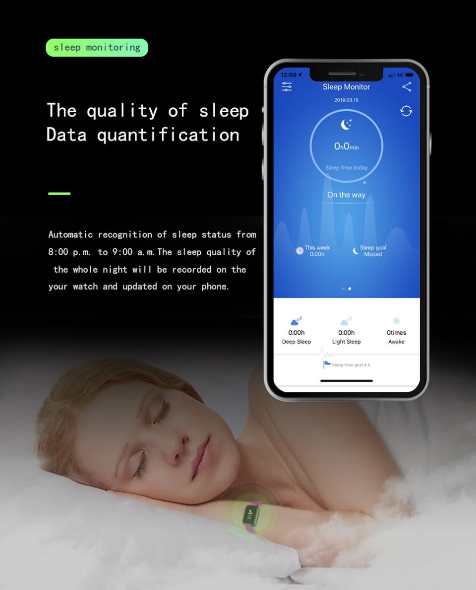 HTB13KVvXq1s3KVjSZFtq6yLOpXab D13 Smart Watch Bracelet Heart Rate Tracker Pedometers Blood Pressure IP67 Waterproof 116 Plus Wirstband For IOS Androd PK IWO 8