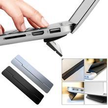 Folding Adhesive Universal PC Laptop Holder Riser Stand Bracket for MacBook 2019NEW dj стойка magma laptop stand riser silver