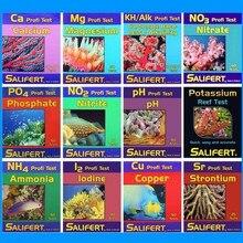 Kit de Test Salifert, réservoir deau de récif, calcium Cu I2 KH Mg NH4, ammoniac, Nitrite NO3 PH PO4 Sr, Potassium