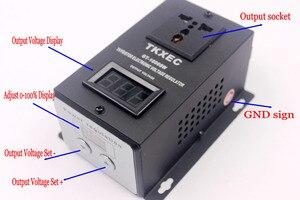 Image 4 - Ac 220 v 10000 w scr 전자 전압 레귤레이터 전동 공구 팬 모터 속도 컨트롤러 ajustable