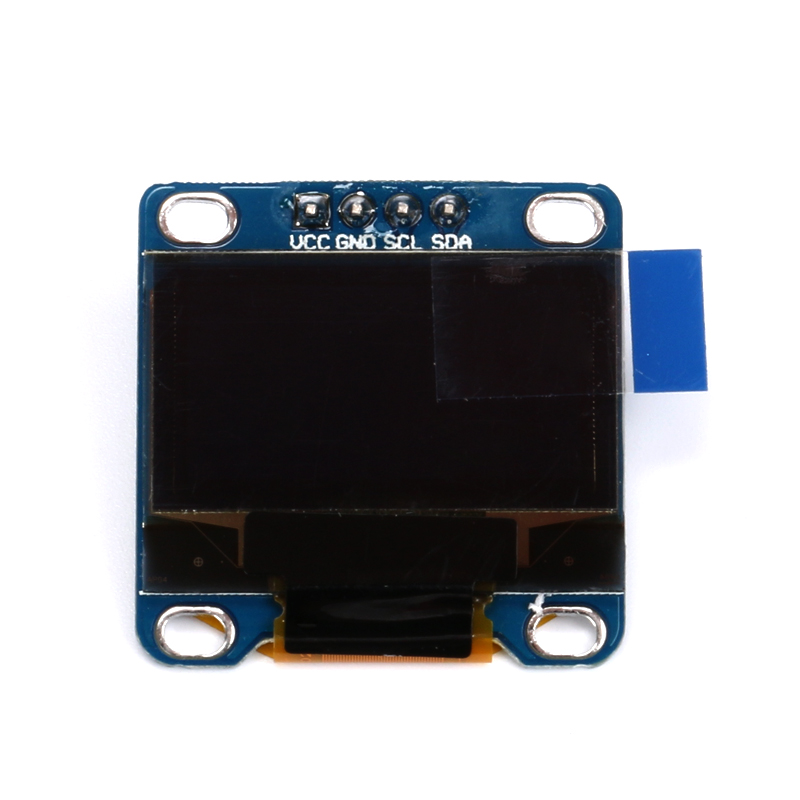 5 Pcs 0.96 Inch Yellow + Blue Double Color IIC Communication 12864 OLED Display Module OLED LCD Screen 0.96