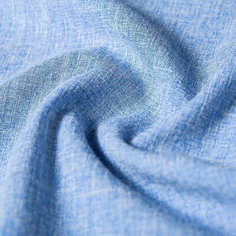 Vrouwen Nieuwe Effen Kleur Rechte Broek Blauw Hoge Taille Streetwear Casual Mode Groothandel Wijde Pijpen Broek Plus Size TrousersMK0018 - 3