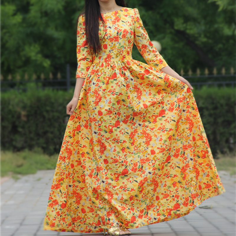 Online Buy Wholesale cotton maxi dress from China cotton maxi ...