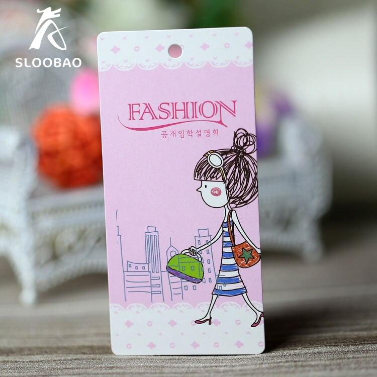 Free Shipping Customized Custom Hang Tags Cloth Printed Hang Tag Printing Clothing Hang Tags, Swing Price Tag Custom
