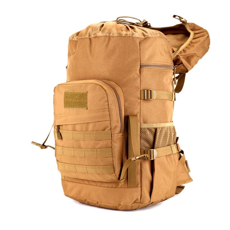 Sac à dos tactique militaire 50L sacs de Camping de grande capacité sac d'alpinisme sac à dos de randonnée pour hommes sac à dos de voyage - 2