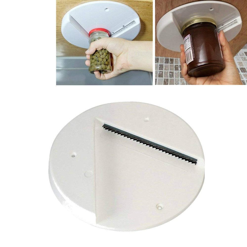 2019 Jar Opener Under Kitchen Cabinet Counter Top Lid