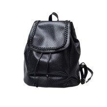 2017 Лидер продаж модные повседневные женские Высокое качество женские сумки дизайнерские женские рюкзак кожаный рюкзак плечо школьные сумки
