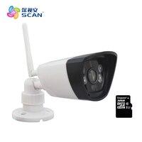 Hd 720 p Wi-fi Draadloze Mini Ip Camera 32g Micro Sd/tf-kaart Onvif Surveillance Beveiliging Webcam Bewegingsdetectie Freeshipping Hot