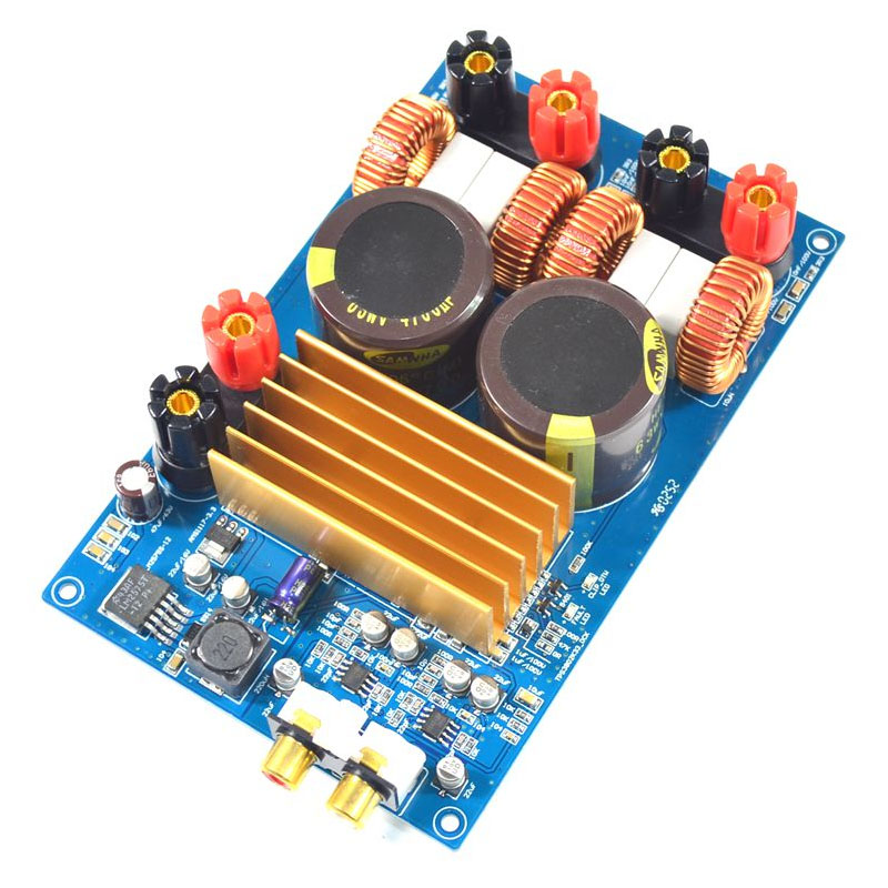 KYYSLB classe D amplificateur de puissance TPA3255 2.0 carte amplificateur de puissance numérique 300W + 300W Original TPA3255 LM2575S-12