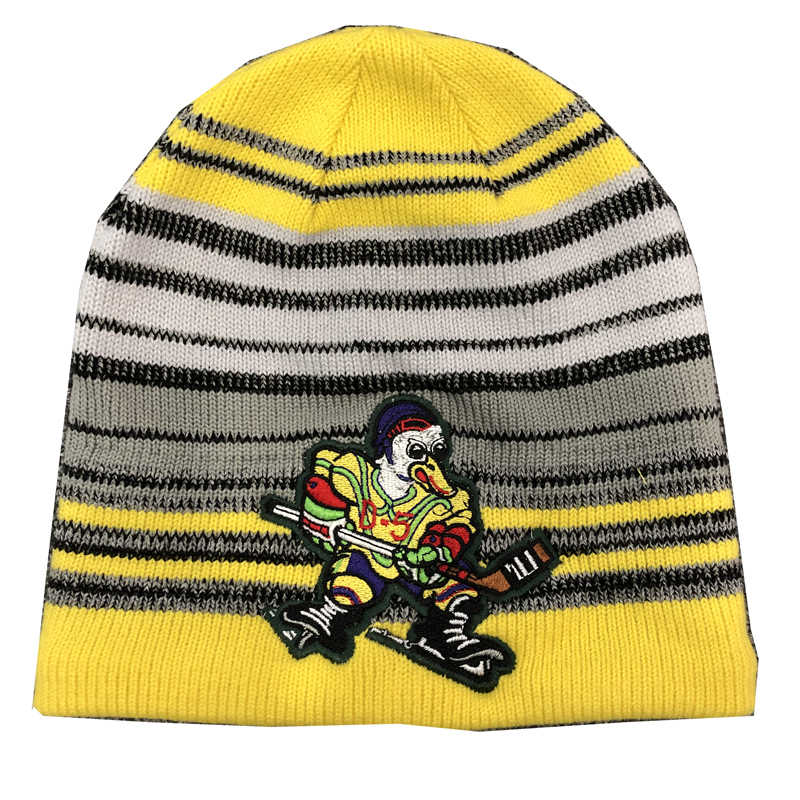 f40281ecd42 Cool hockey free shipping high quality winter knitted hats with an  embroidery logo for hockey fans