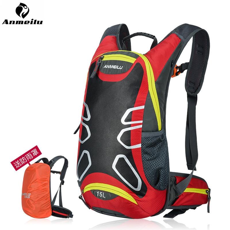 ANMEILU Motorkerékpár Verseny hátizsák Motorkerékpár Vízálló táska esővédővel Többfunkciós hátizsák sisak táska