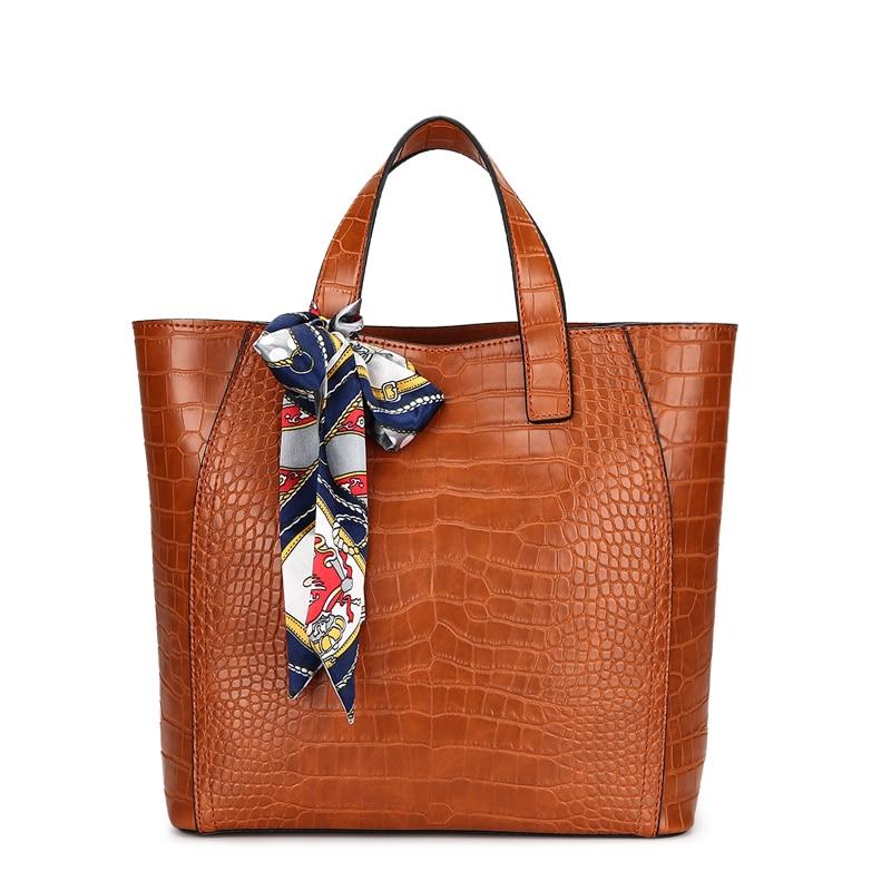 Women Bag Crocodile Print Composite Bags Ladies Designer Handbags High  Quality Female Classic Bag Shoulder Bags Designer Tote-in Top-Handle Bags  from … 3e8b1e66d7545