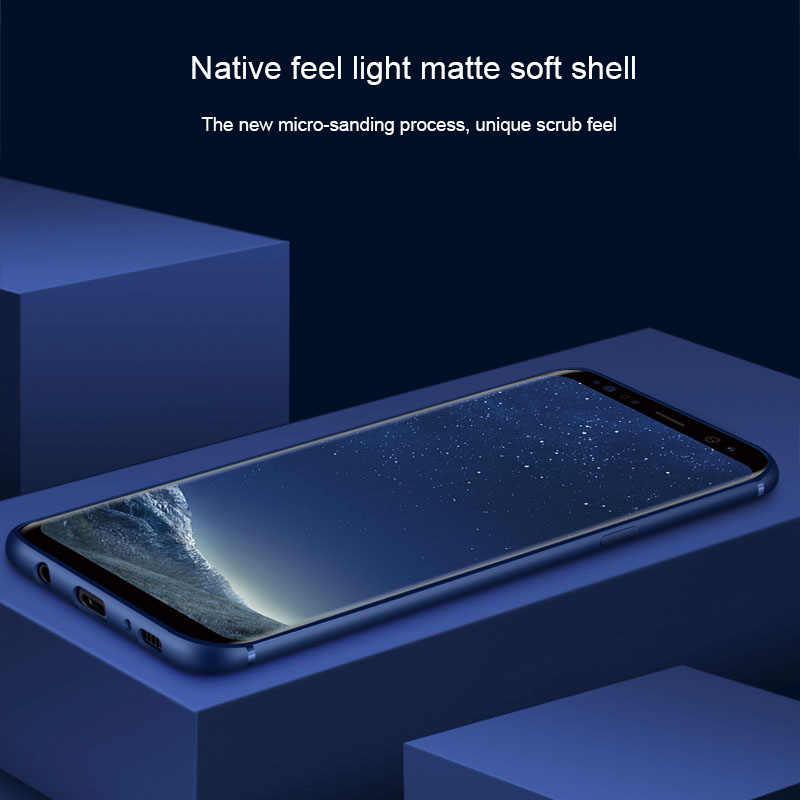 Siêu Mỏng Ốp Lưng Điện Thoại Dành Cho Samsung Galaxy Samsung Galaxy S6 S7 Edge S8 S9 S10 5G S10e Lite Plus Duos chống sốc Dầu-TPU Ốp Lưng Silicone