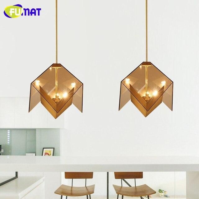 FUMAT Drie Zijden Diamant Hanglampen Moderne Bar Suspension ...