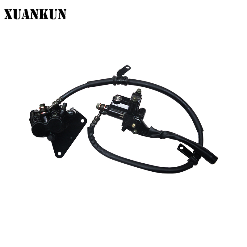 XUANKUN Motorcycle Accessories KPS200 / LF200-10R before the Hydraulic Brake Combination xuankun hj125t 10 hj125 10a hj125t 10e the front cover of the motorcycle before and after the shield