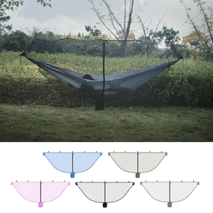 Image 1 - Ultralight Hammock Mosquito Net Outdoor Camping Breathable Anti Mosquito Mesh Tent Net