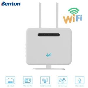 Image 1 - 300 Mbps 3G/4G Wifi routeur 2.4 GHz sans fil AP CPE Port WAN/LAN avec emplacement pour carte SIM 300 Mbps