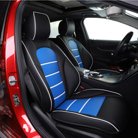 Car Believe car seat cover For vw golf 4 5 VOLKSWAGEN polo 6r 9n passat b5 b6 b7 covers for car vehicle seat seat protector