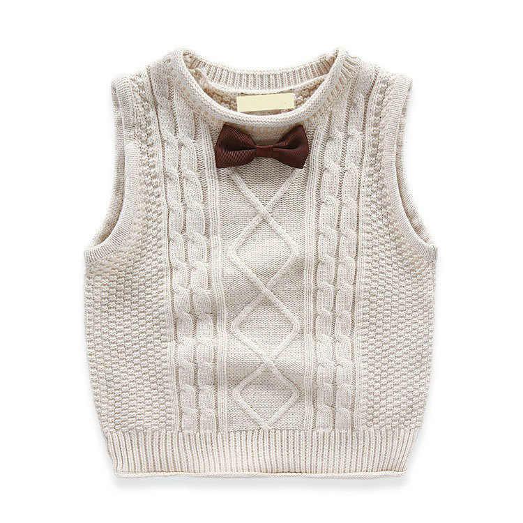 האפוד עבור בני אביב סתיו סרוג תינוק וסטים אופנה חזייה לבנים תינוק בגדי ילדים חולצות מעילים colete