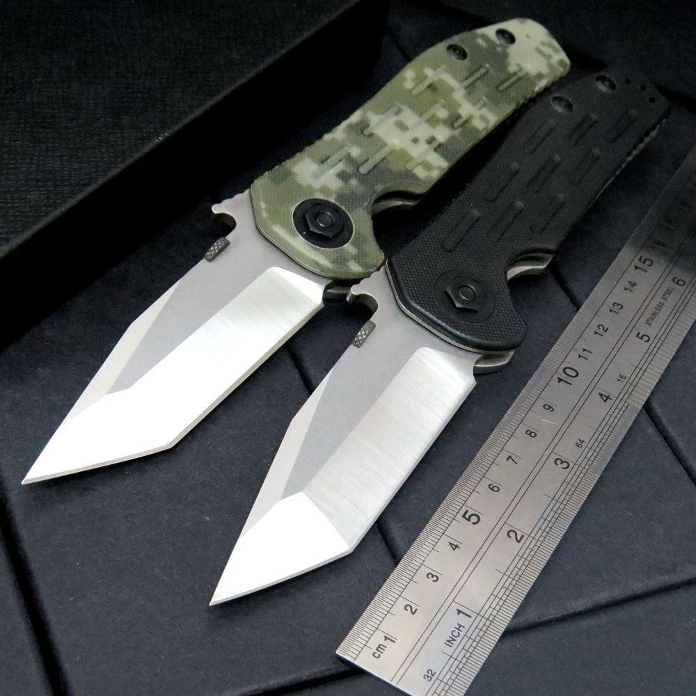 High quality ZT 0620 Folding Knife 9Cr18mov Blade G10+Steel Handle Tactical Knife Camping Hunting EDC  Outdoor Tool Knive  high quality zt h61d3 100