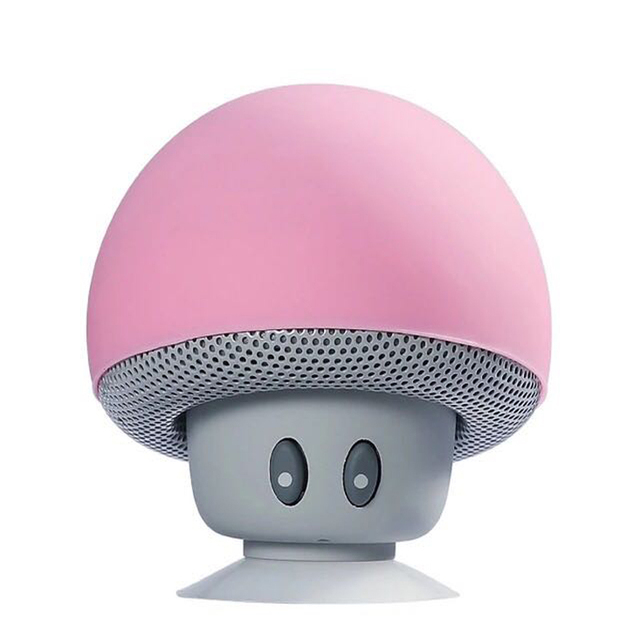 Cartoon Mushroom Wireless Bluetooth speaker waterproof sucker mini bluetooth speaker audio outdoor portable Bracket