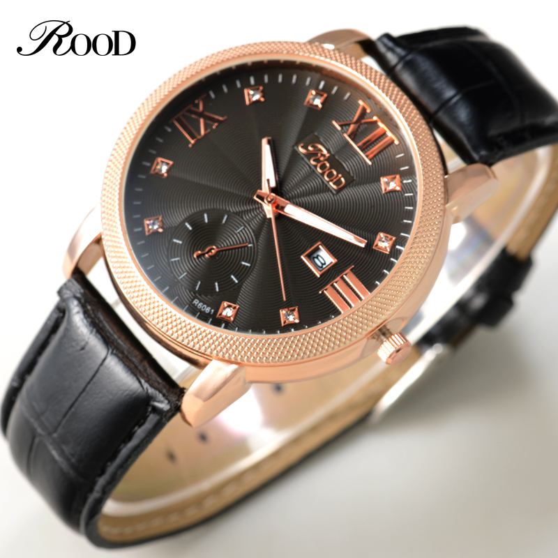 2016 Water Resistant Calendar Mens Watches Military Army Leather Watch Male Fashion Casual Quartz WristWatch Relogio